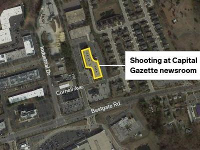 Photos show how a deadly mass shooting unfolded at a local newspaper in Maryland