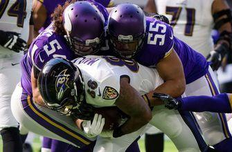 Vikings pummel Ravens behind stifling defense, Forbath's leg