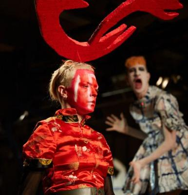 Charles Jeffery transforms his growing pains into performance art