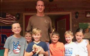 Peyton Manning Adopts Rescue Puppy During Family Vacation