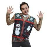 Target Is Selling His and Hers Ugly Sweater Vests, and Trust When We Say They're Peak Fugly