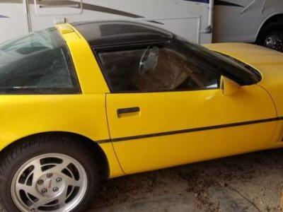At $3,000, Will This Fly-Yellow 1990 Chevy Corvette Fly to a New Owner?