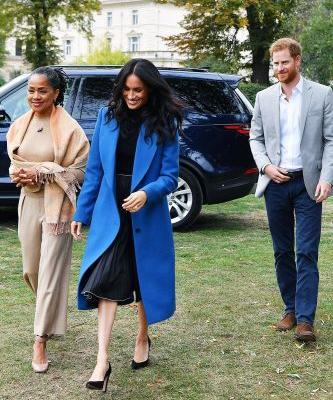 Sorry Meghan, We Can't Help But Want Your Mom's Outfit Head to Toe