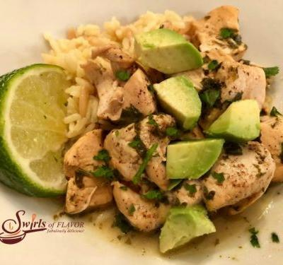 Cilantro Lime Chicken in an Instant Pot
