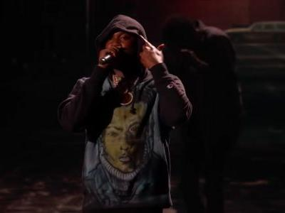Watch Meek Mill and Miguel's Powerful BET Awards Performance
