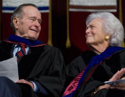 Heartbroken yet 'stoic': George H.W. Bush since wife's passing