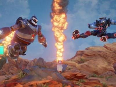 Rising Thunder's free PC robot brawler is here