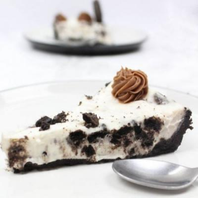 Vegan No Bake Oreo Cheesecake