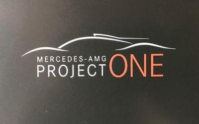 Mercedes-AMG Project One Hypercar Will Be Unveiled at Frankfurt Motor Show