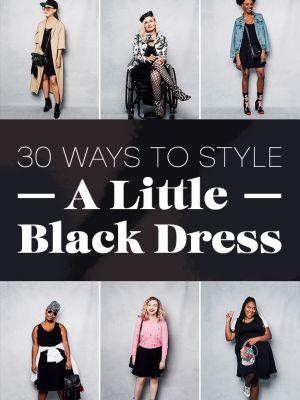 17 Women Styled The Same Black Dress 30 Ways And It's Incredible
