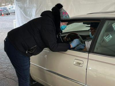 Family Health Center launches drive-thru vaccination clinic