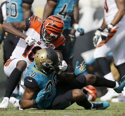 Bengals' A.J. Green fined, not dignifying Jaguars' Jalen Ramsey's comments