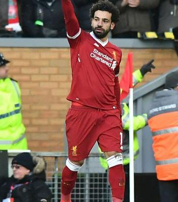 Snow Salah: Liverpool forward scores 4 in win over Watford