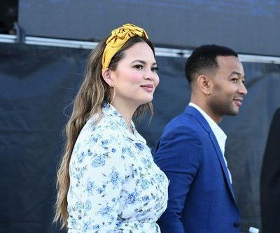 Chrissy Teigen's Videos Of Luna Getting A Passport Are So, So Adorable