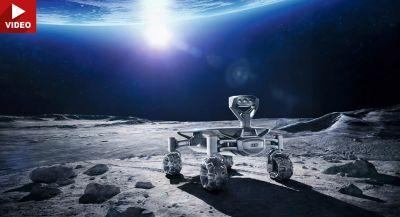 Audi Books Rocket To Take The Lunar Quattro Rovers To The Moon