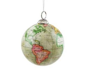 Christmas Ornaments for Travelers | Gifts for Travel Lovers