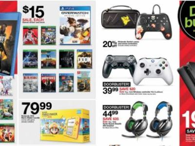 Target's Black Friday Deals Revealed, PS4 with Marvel's Spider-Man for $199
