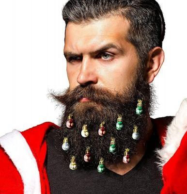 Beard Christmas Ornaments Are Here to Make Your Facial Hair Look Festive as F*ck