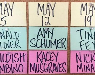 Saturday Night Live Announces May Line-Up