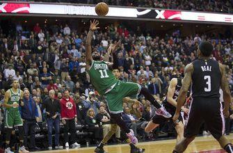 Irving helps Celtics past Wizards 130-125 in overtime