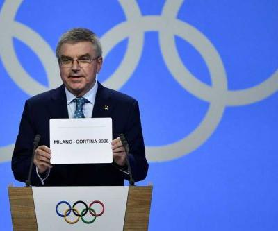 Italy's Milan-Cortina to host 2026 Winter Olympics