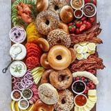Holy Breakfast! These Bagel Charcuterie Boards Will Make Mornings a Million Times Better