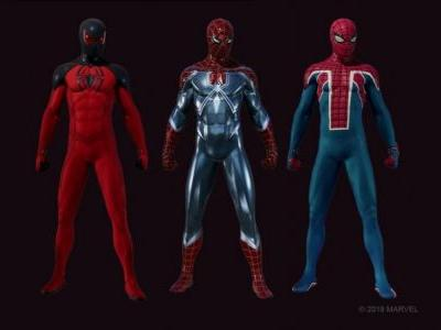 The First DLC For Marvel's Spider-Man Introduces Three New Suits