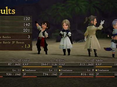 Bravely Default 2 Early JP Farming Guide
