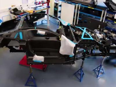 Watch A New TVR Griffith Come Together Before Your Very Eyes