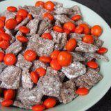 This Dark Chocolate Halloween Puppy Chow Is Scarily Good