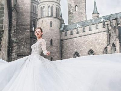 These Disney Princess-Inspired Wedding Dresses From Allure Bridal Are Otherworldly
