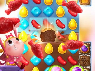 King's Candy Crush Friends drives franchise to 262 million monthly active players
