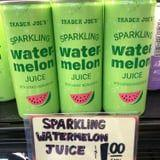 Make Room in Your Refrigerator! Trader Joe's New Sparkling Watermelon Juice Is Only $1