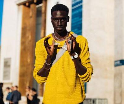 See what the models are wearing off-duty during men's week in Paris!