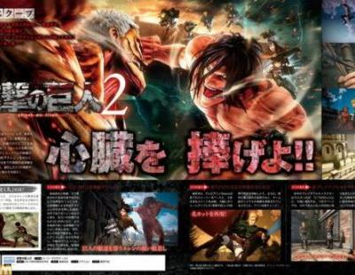 Attack on Titan 2 Will Have Over 30 Playable Characters