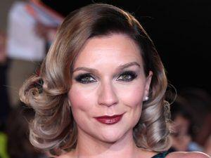 Candice Brown Shows Off Her Engagement Ring On The Red Carpet