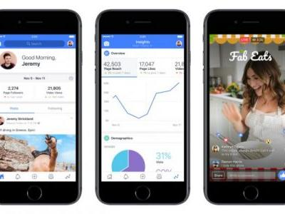 Facebook's new Creator app brings pro graphics and analytics to your videos