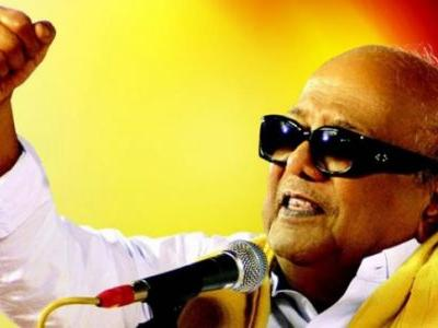 When Karunanidhi said goodbye to his dark glasses but retained the yellow shawl