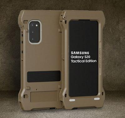"""The """"Galaxy S20 Tactical Edition"""" is a shock-and-awe campaign against reality"""