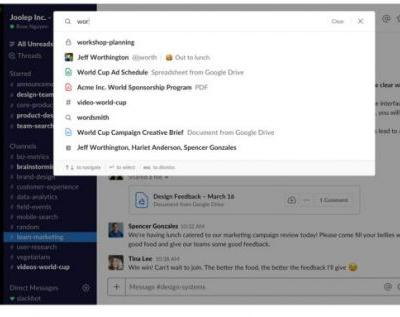Slack updates search with expanded view and intelligent filtering