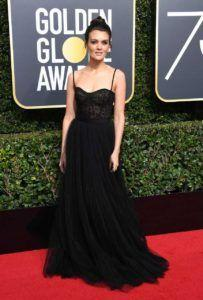Golden Globes gorgeous: Get Frankie Shaw's radiant look