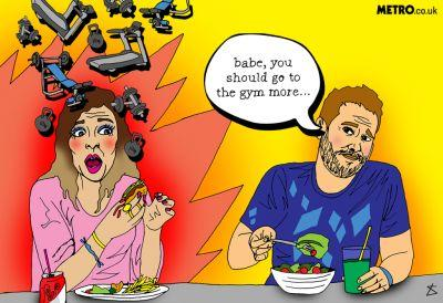 Is it ever OK to tell your partner they need to exercise more?