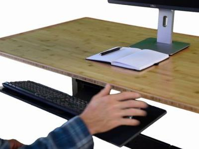 19 Inspirational Keyboard Tray for Desk Pictures
