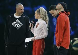 The Latest: Team LeBron rallies, wins All-Star game 178-164