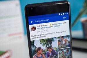 Facebook starts rolling out new UI on Android devices