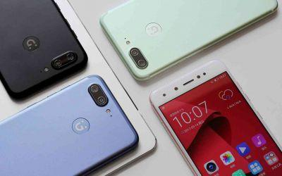 Gionee S10 is a new Android phone with four cameras