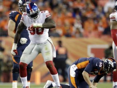 Manning, Pierre-Paul and rest of Giants stun Broncos