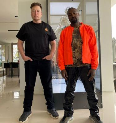 Grimes takes a picture of Kanye West and Elon Musk, memes predictably ensue