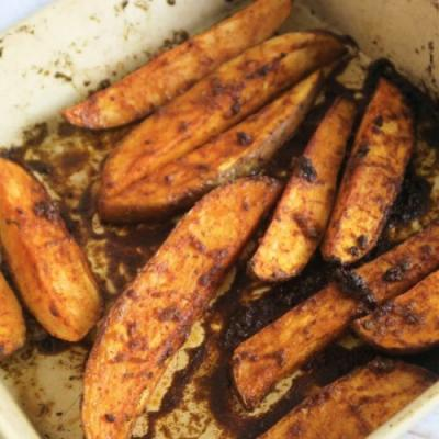 Roasted Peri-Peri Sweet Potato
