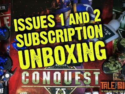 Review: Issue 1 and 2 of Warhammer 40,000 Conquest Magazine